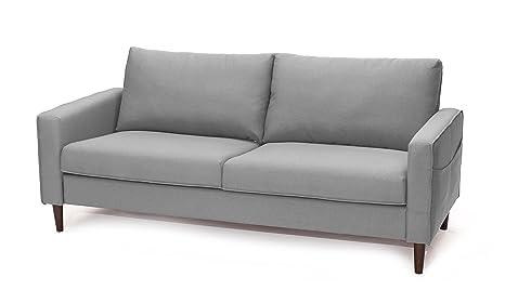 SLAAP Sofa & Chaise - Sofá Estilo Nórdico 2,5 plazas. Gris ...