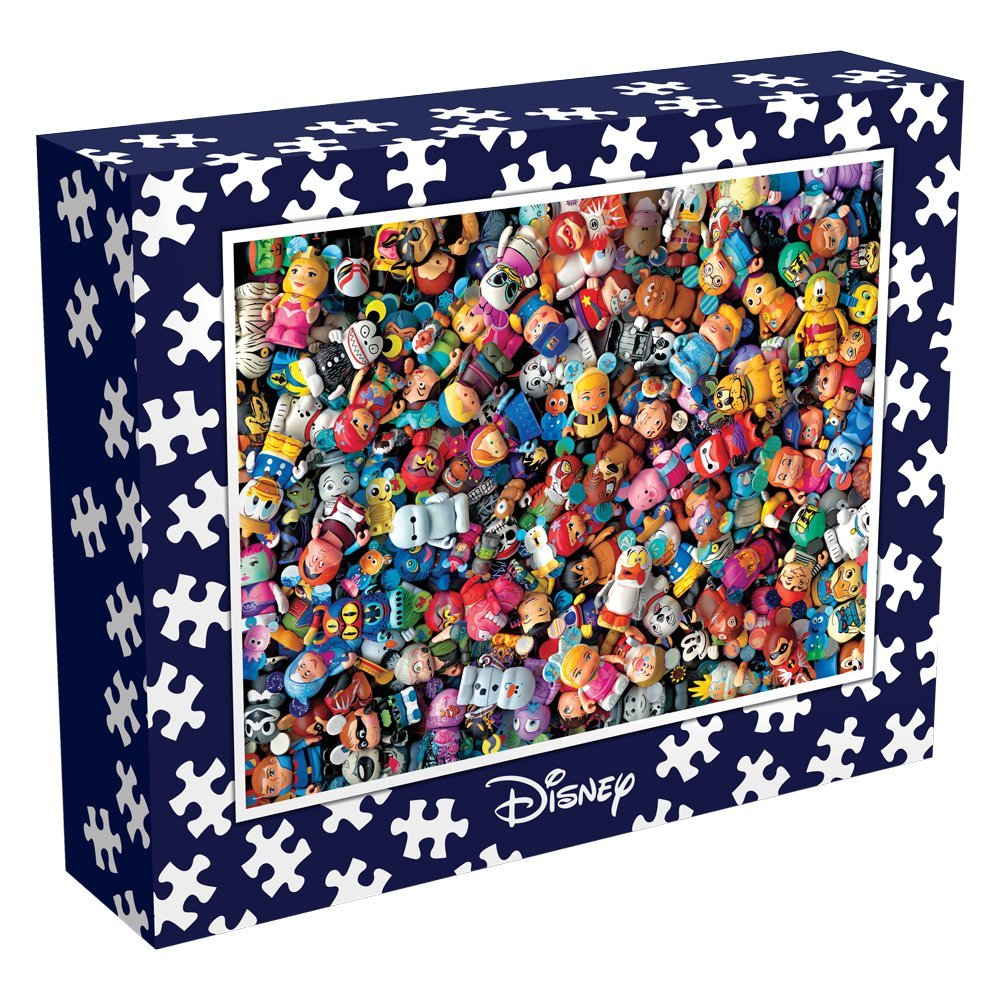 Ceaco Perfect Piece Count Puzzle Vinylmation Collage 10012 The Disney Collection