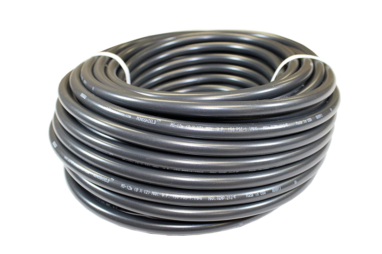 100 feet Length 21//64 ID x 1//2 OD Advanced Technology Products ATP 21//64 ID x 1//2 OD ATP MonoShield Polyurethane Plastic Tubing Black