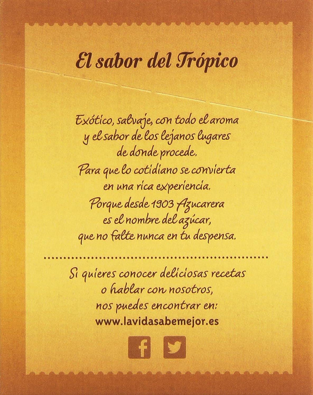 Azucarera - Azúcar moreno de caña integral en azucaritos - 50 azucaritos (total 300 gr): Amazon.es: Alimentación y bebidas