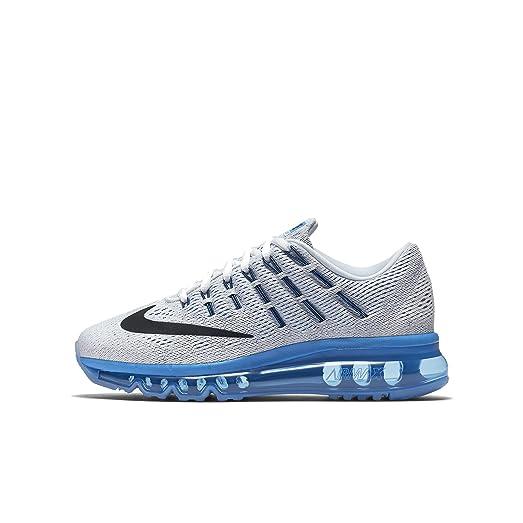 Boys Nike Air Max 2016 White/Photo Blue/Pure Platinum/Black