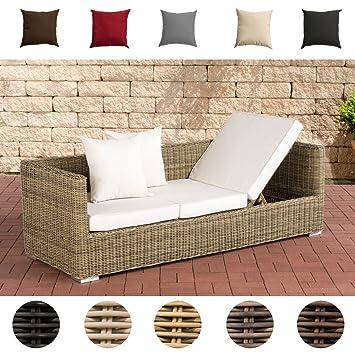 Clp Poly Rattan Lounge Sofa Solano 5 Mm Alu Gestell 3 Er Sofa