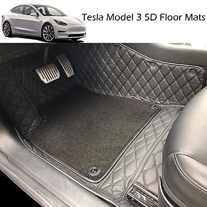 Amazon Com Car Floor Mats Custom All Weather 5d For Tesla