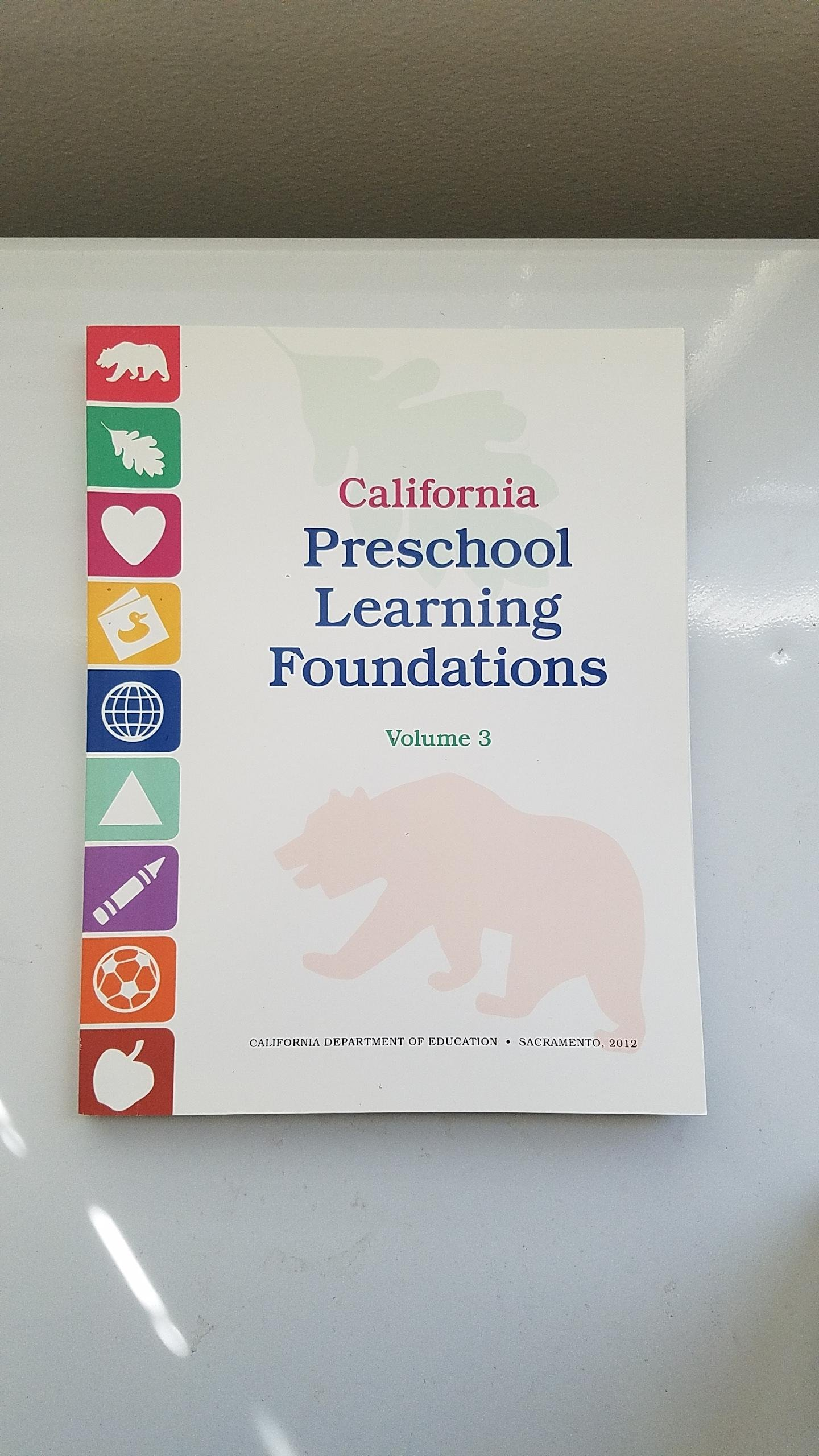 California preschool learning foundations volume 3 9780801117275 california preschool learning foundations volume 3 9780801117275 amazon books fandeluxe Gallery