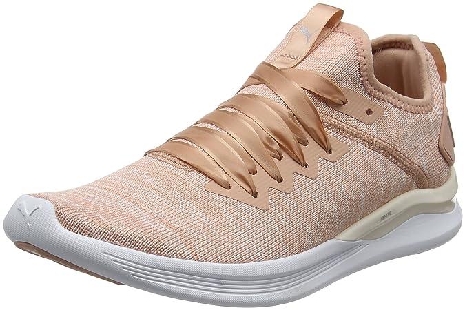 Puma Running Ignite Flash Evoknit Baskets en satin Femme