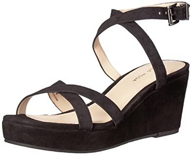 PELLE MODA Women's Keo2 Platform Wedge Sandal 1w3ZmdnrP