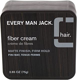 product image for Every Man Jack Fiber Cream Matte Finish Firm Hold 2.65 Ounce (78.4ml) (6 Pack)