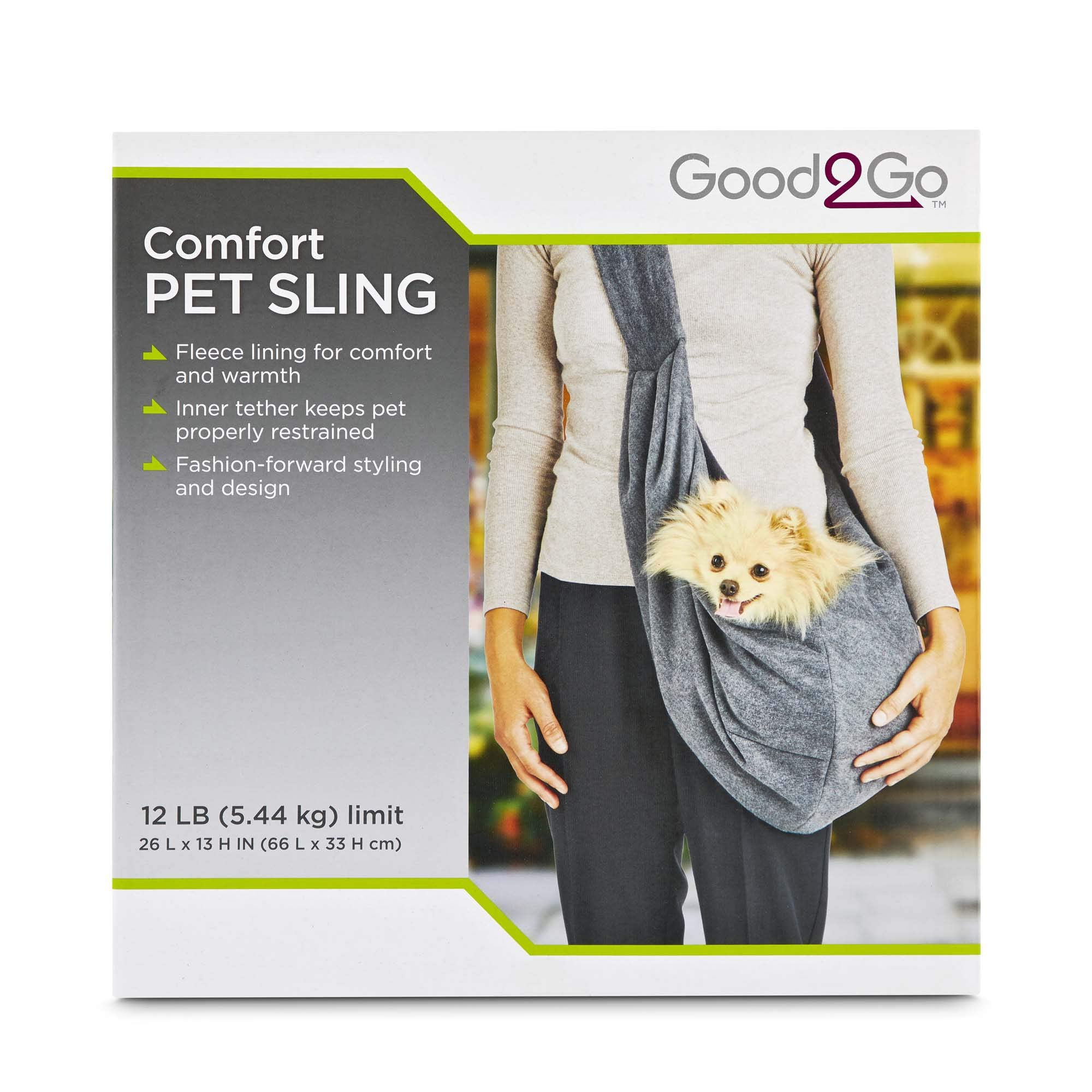 Good2Go Comfort Pet Sling, 26'' L X 13'' H, Medium by Good2Go