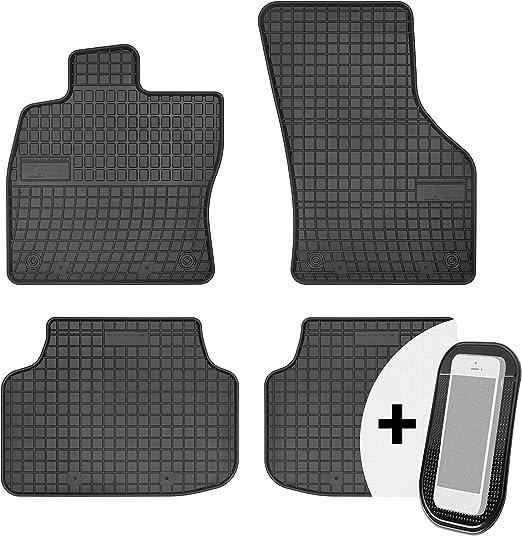 Moto Moltico Gummimatten Auto Fußmatten Gummi Automatten Passgenau 4 Teilig Set Passend Für Citroen C5 Aircross Ab 2018 Auto
