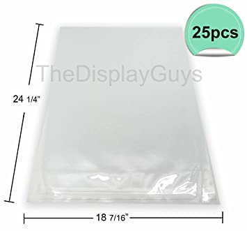 Amazon.com: The Display Guys, 25 bolsas de plástico ...