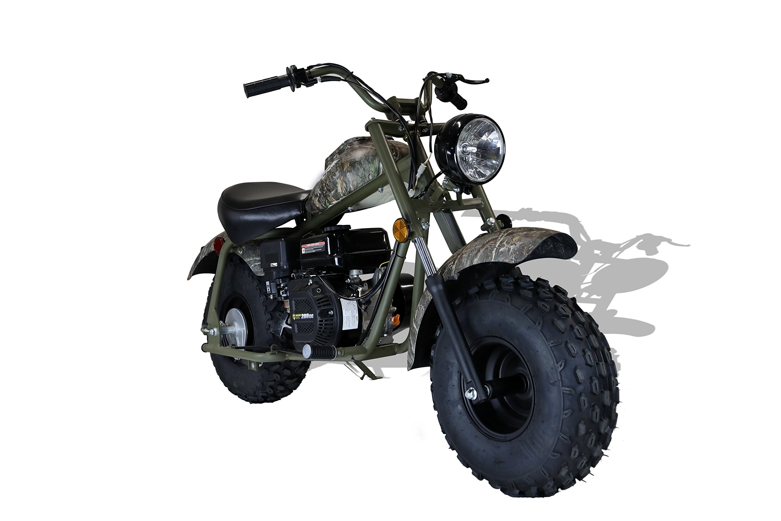 MASSIMO MB200 SUPERSIZED 196CC MINI BIKE - SHIPPING & WARRANTY INCLUDED! by M MASSIMO MOTOR (Image #6)