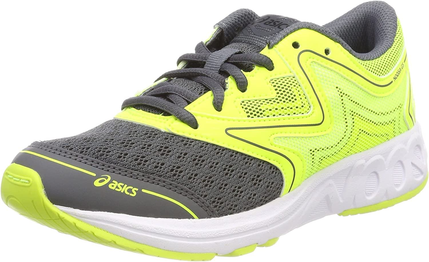 Asics Noosa GS, Zapatillas de Running Unisex Adulto, Amarillo (Carbon/Safety Yellow/Mid Grey 9707), 40 EU: Amazon.es: Zapatos y complementos