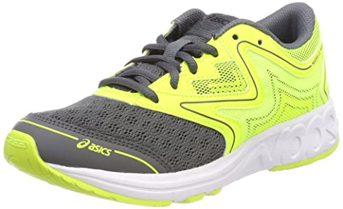 Asics Noosa GS, Zapatillas de Running Unisex Niños, Amarillo (Carbon/Safety Yellow/Mid Grey 9707), 40 EU: Amazon.es: Zapatos y complementos