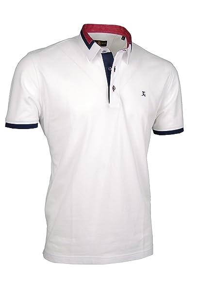 Camisa de Polo Premium, Giorgio Capone, unico con cuello de camisa ...