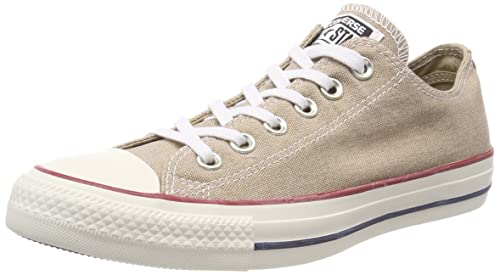 Unisex Adults CTAS Ox Wolf White Trainers, Grey, 5.5 UK Converse