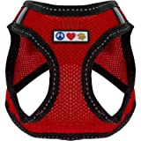 Pawtitas Pet Reflective Mesh Dog Harness, Step in or Vest Harness Dog Training Walking of Your Puppy/Dog - No More…
