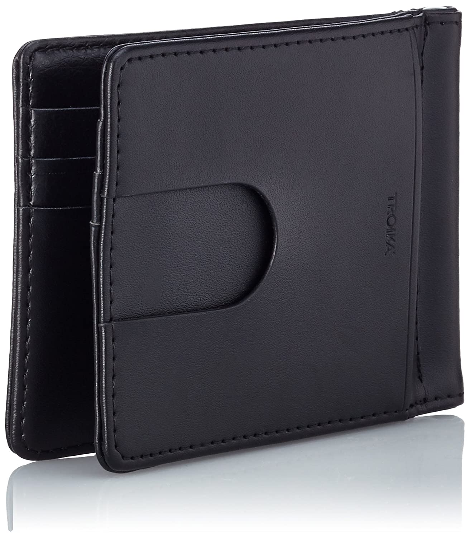 Amazon.com: TROIKA MIDNIGHT – MYC29/LE – Money clip wallet and card ...