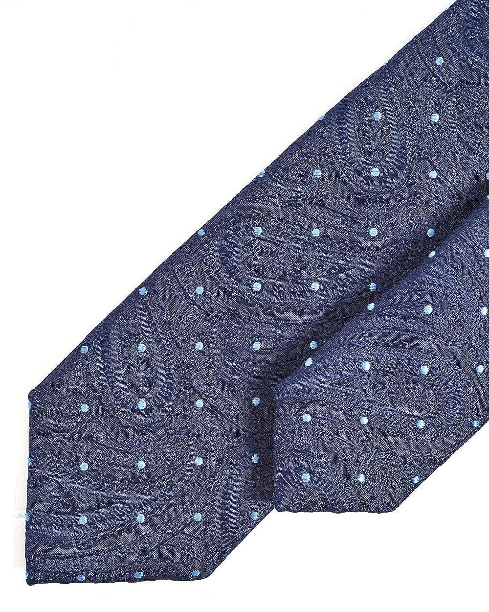 BOSS corbata de seda dots on paisley navy: Amazon.es: Ropa y ...