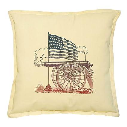 Amazon American Revolution Symbols Printed Decorative Pillows