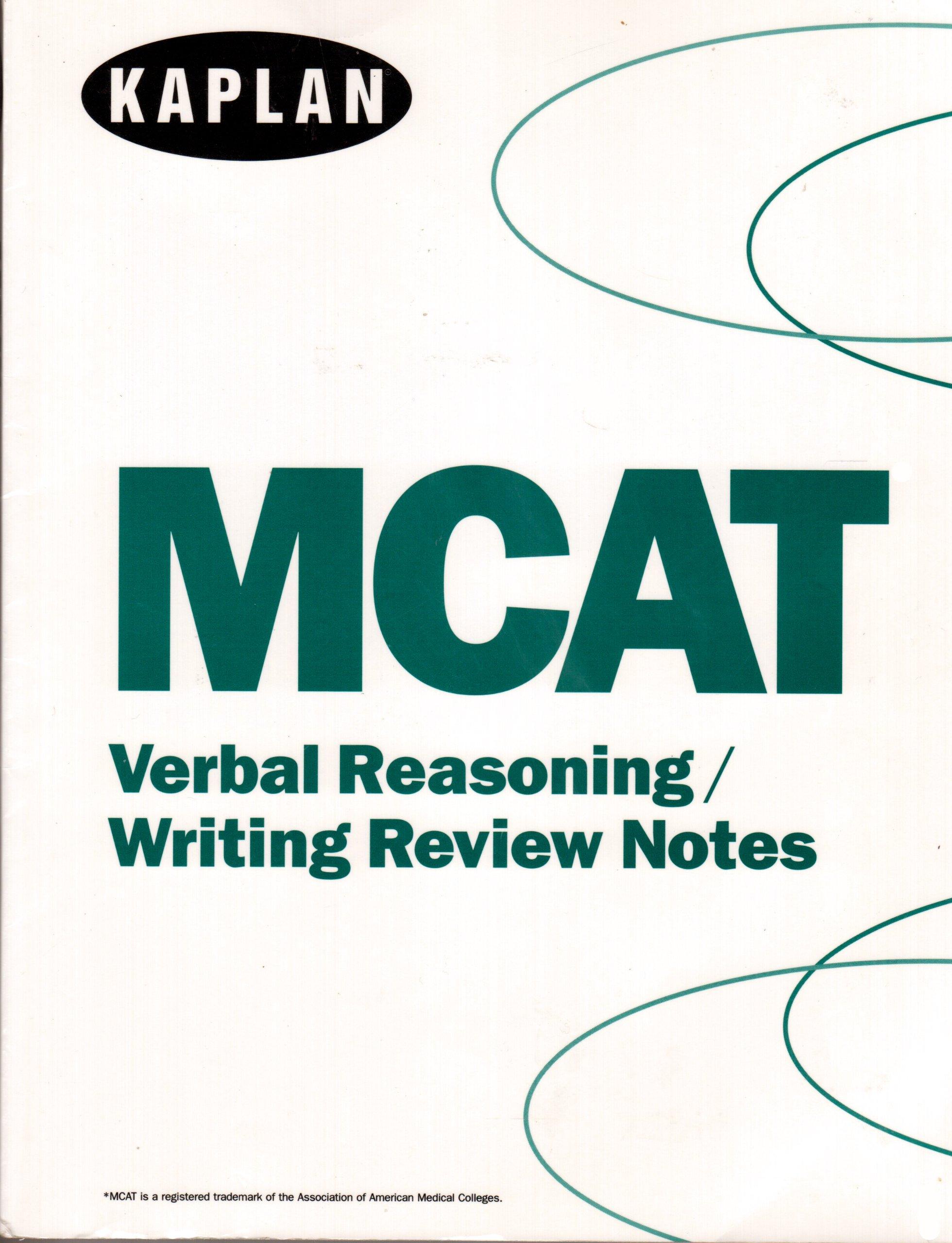Mcat Verbal Reasoning , Writing Review Notes (kaplan) pdf