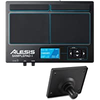 Alesis Sample Pad 4 - Instrumento multi-pad y controlador MIDI y disparar samples y ranura para tarjeta SD/SDHC + Module…