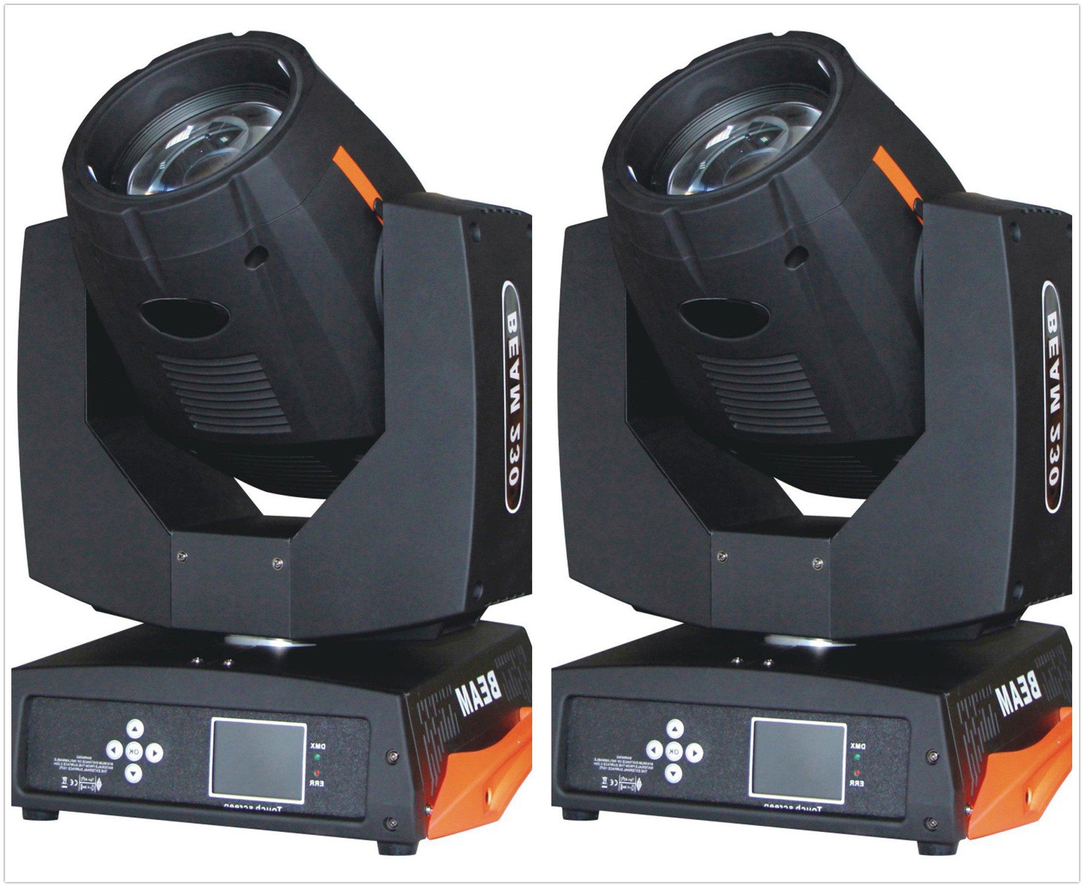 Roccer 2pcs Stage Lighting Moving Head Sharpy Beam 7R 230W DMX512