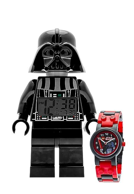Lego Star Wars - Juego de reloj digital articulado y reloj de muñeca, diseño de