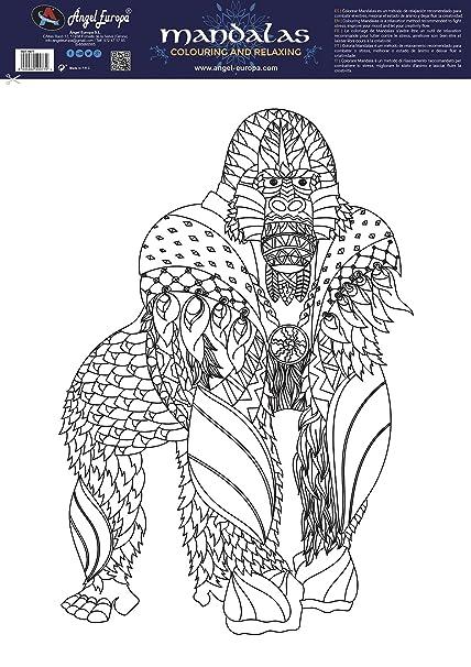 Mandala 48x68 Gorila: Amazon.es: Hogar