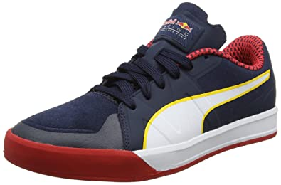 543ddf578d0 Puma Unisex Adults  RBR Rider Low-Top Sneakers