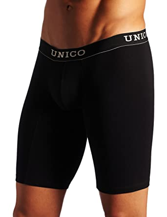 Mundo Unico Mens Boxer Copa Athletic Intenso, Black, Small