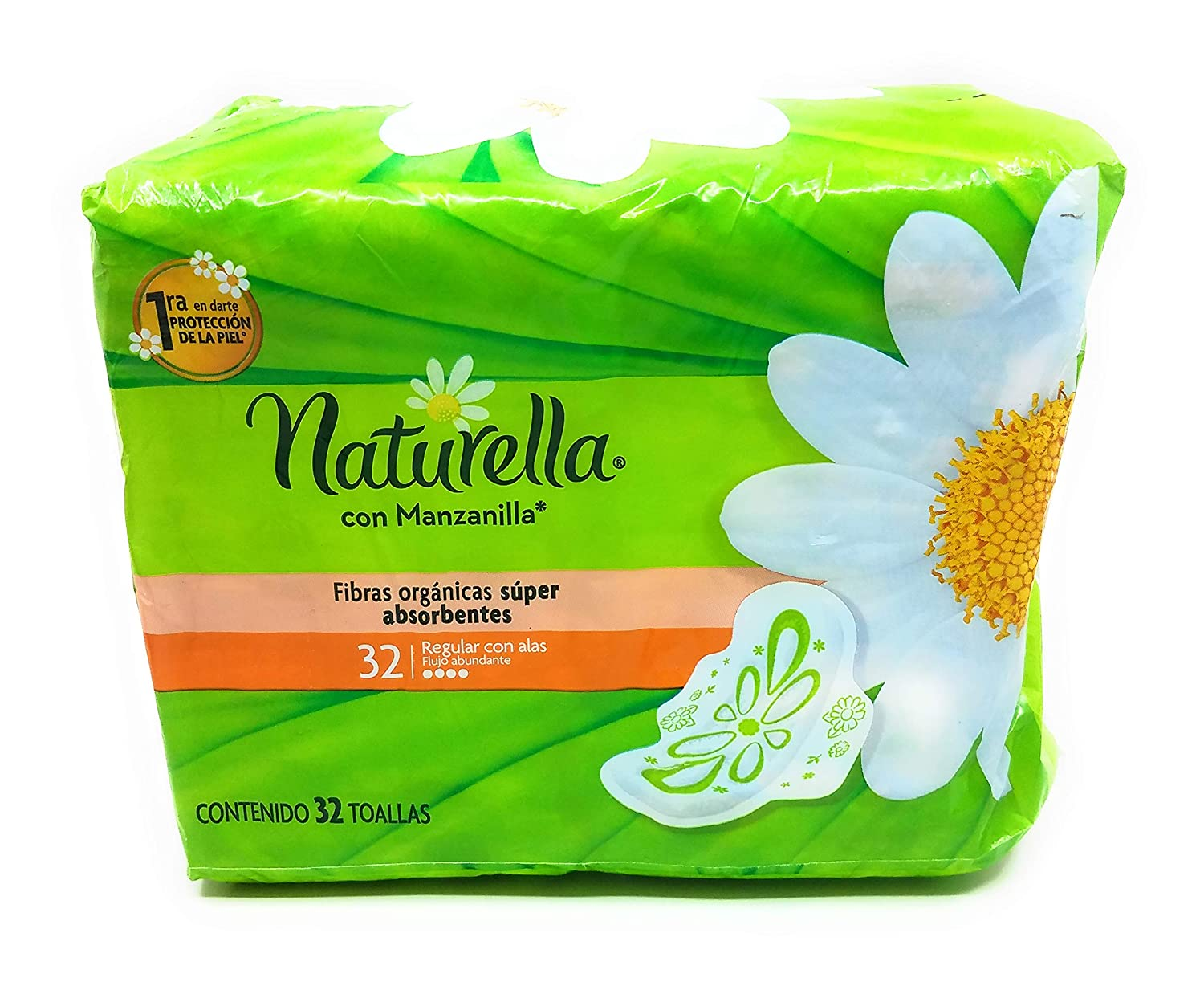 Amazon.com: Naturella con Manzanilla Toallas, 32 Count and Tesadorz Resealable Bags: Health & Personal Care