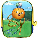 """Cartoon Network Adventure Time """"What Time Is It?"""" Lunch Bag Backpack, 10 X 9 X 3 inches"""