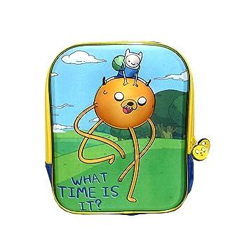 """Red de dibujos animados Hora de aventuras """"qué hora es? Bolsa para el"""