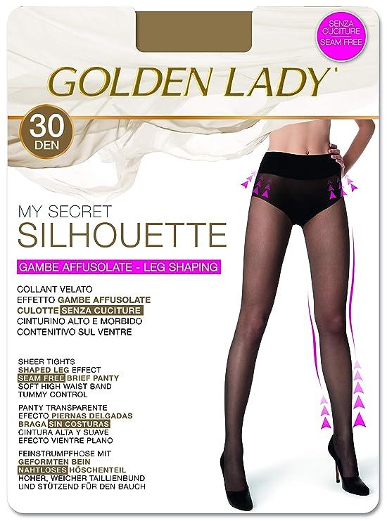11e7740ab72ca GOLDEN LADY Collant, 30 DEN Donna: Amazon.it: Abbigliamento