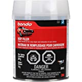 3M 261 Bondo Body Filler, Original Formula for Fast, Easy Repair & Restoration of Your Vehicle, 14 oz with 0.5 oz Hardener, S