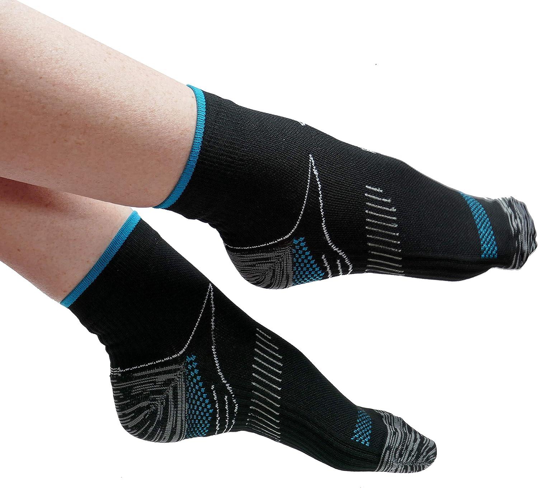 Calze a compressione Cavigliera Supporto ad arco plantare Sollievo per fascite plantare Supporto per piede da uomo e donna