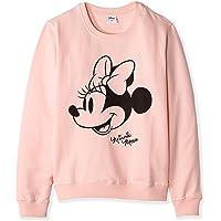 Disney Sudadera oficial de Minnie Mouse para mujer y adolescente de algodón - S M L XL