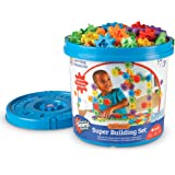Learning Resources LER9164 Gears! Gears! Gears! Super Building Set (150 Piece)