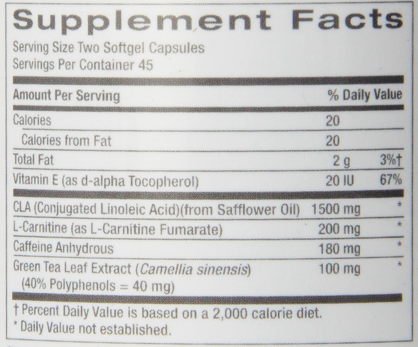 GNC Total Lean Thermo CLA for Healthy Body Composition and Lean Muscle Maintenance - 90 Count by GNC (Image #2)