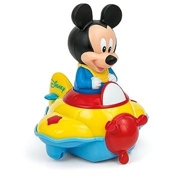 AmarilloAmazon esJuguetes Clementoni Juegos Su Mickey Y Avión AR345jLq
