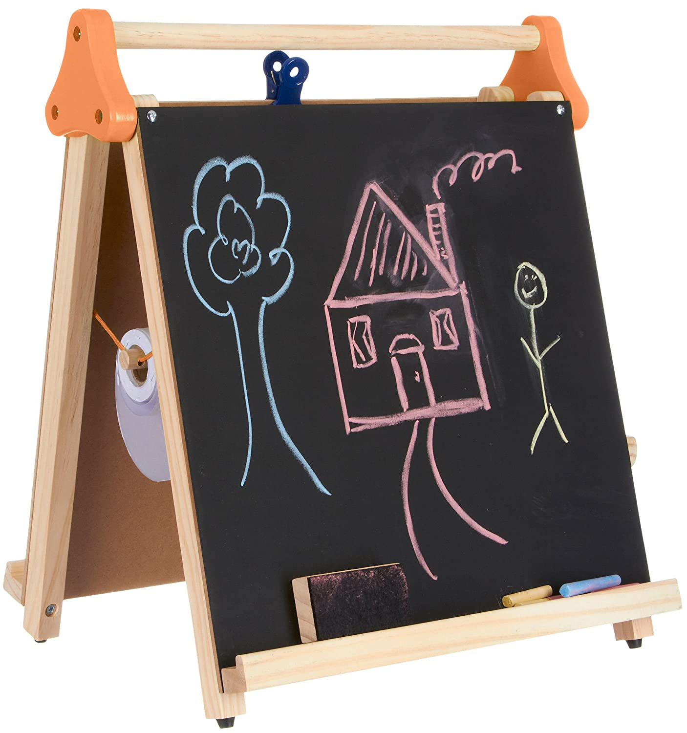 Amazon.com: Discovery Kids 3 In 1 Artist Tabletop Easel Multi: Arts, Crafts  U0026 Sewing