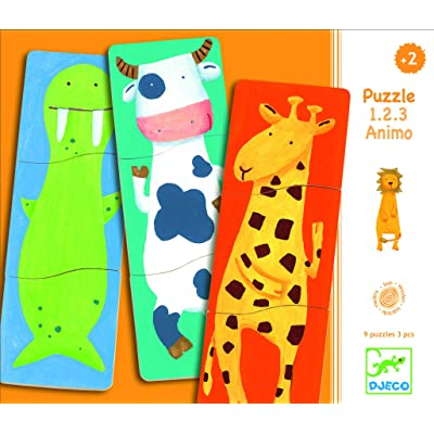 Djeco Matching Game, 123 Animo: Toys & Games