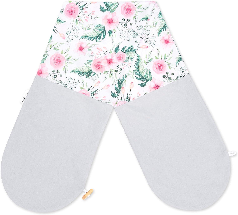 Amilian/® Housse de coussin dallaitement pour coussin de positionnement lat/éral Coussin de grossesse 100/% coton Taille 160 cm