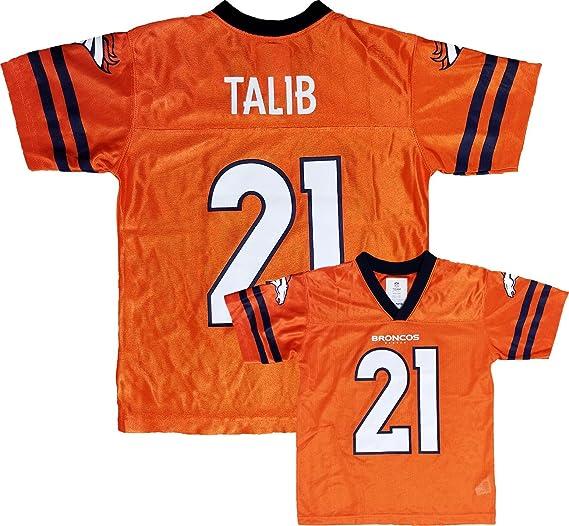 watch f1dde 6e679 Amazon.com: Outerstuff Aqib Talib Denver Broncos Orange Home ...