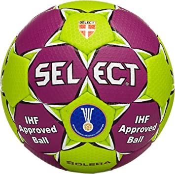 Select Solera - Balón de Balonmano, Color Lila y Verde: Amazon.es ...