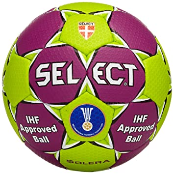 Select Solera - Balón de Balonmano, Color Lila y Verde: Amazon.es ...