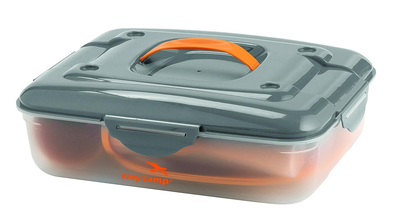 Easy Camp Cerf Picknick Box für 4 Personen Campingküche, Orange, One ...