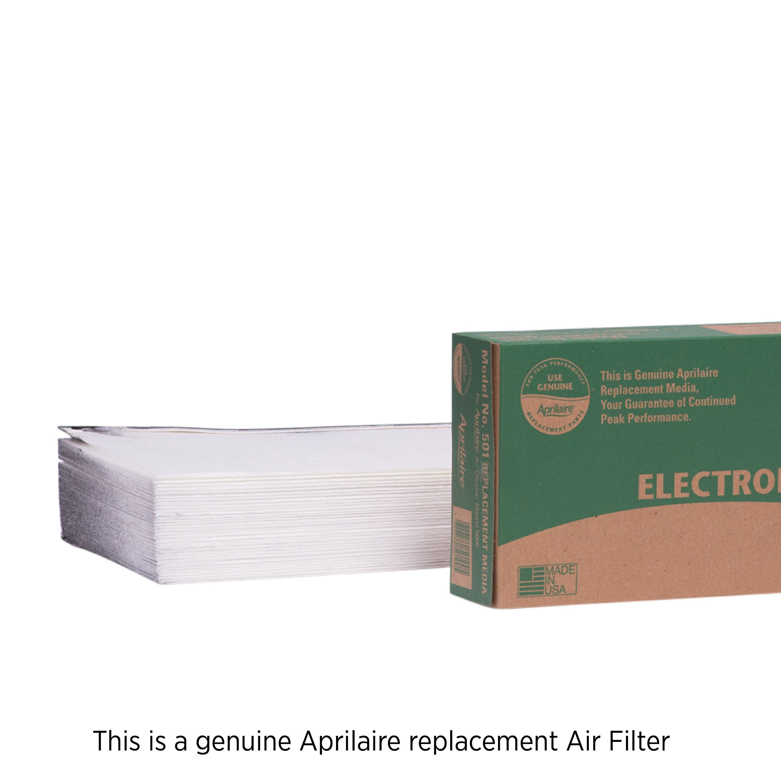 Aprilaire 501 Air Filter for Aprilaire Whole Home Electronic Air Purifier Model: 5000, MERV 16 (Pack of 1)