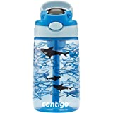 Contigo Straw Water Bottle 14 oz Gummy Shark