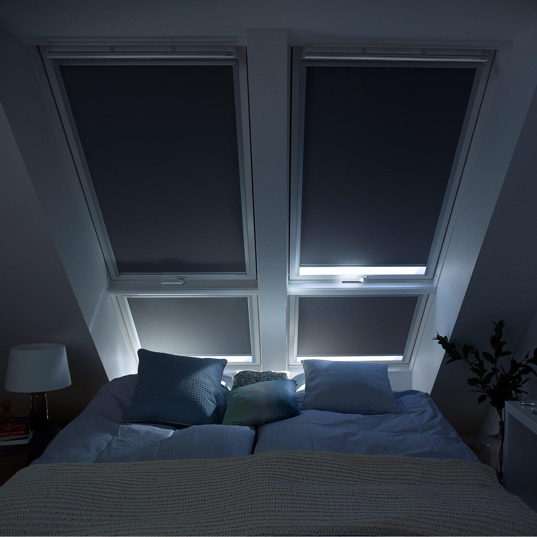 Velux Original Verdunkelungsrollo Für Dachfenster Y85 Uni Grau